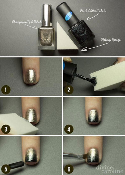 Easy-Step-By-Step-New-Nail-Art-Tutorials-For-Beginners
