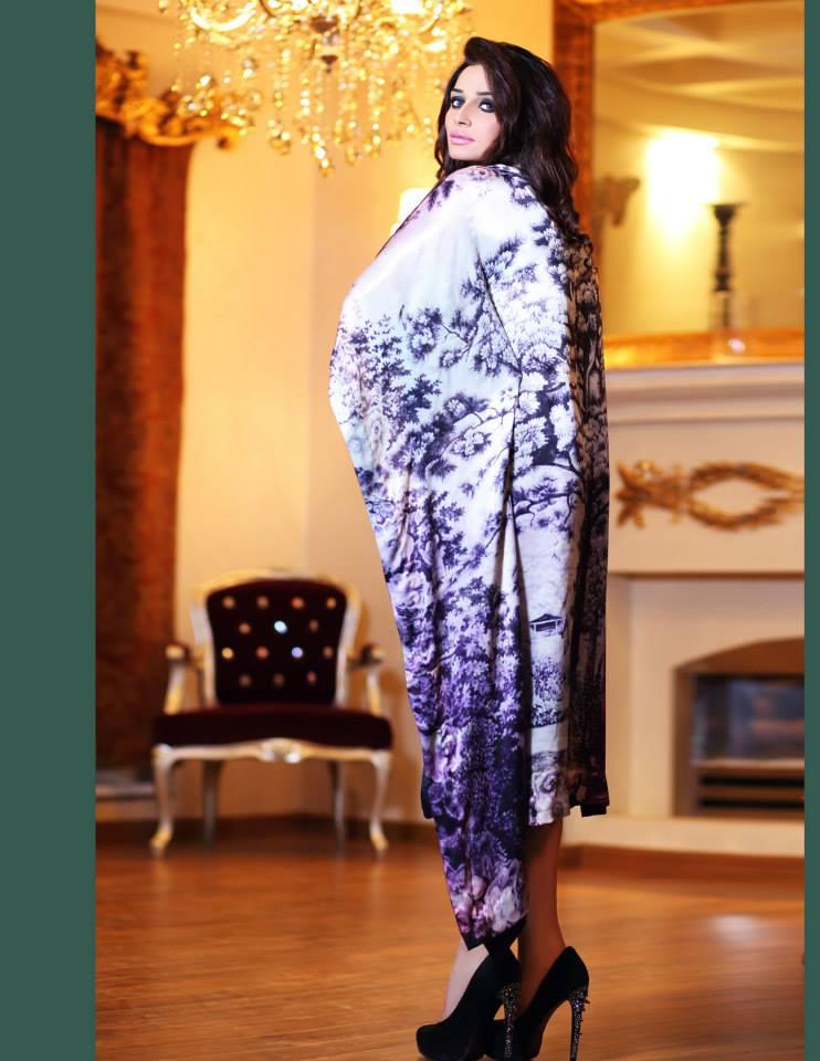 Hadiqa Kiani Winter Collection Linen & Karandi Dresses with Shawls for Women 2014-2015 (18)