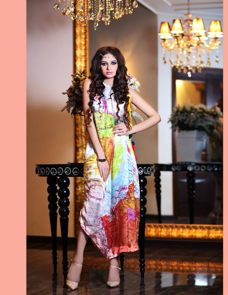Hadiqa Kiani Winter Collection Linen & Karandi Dresses with Shawls for Women 2014-2015 (25)