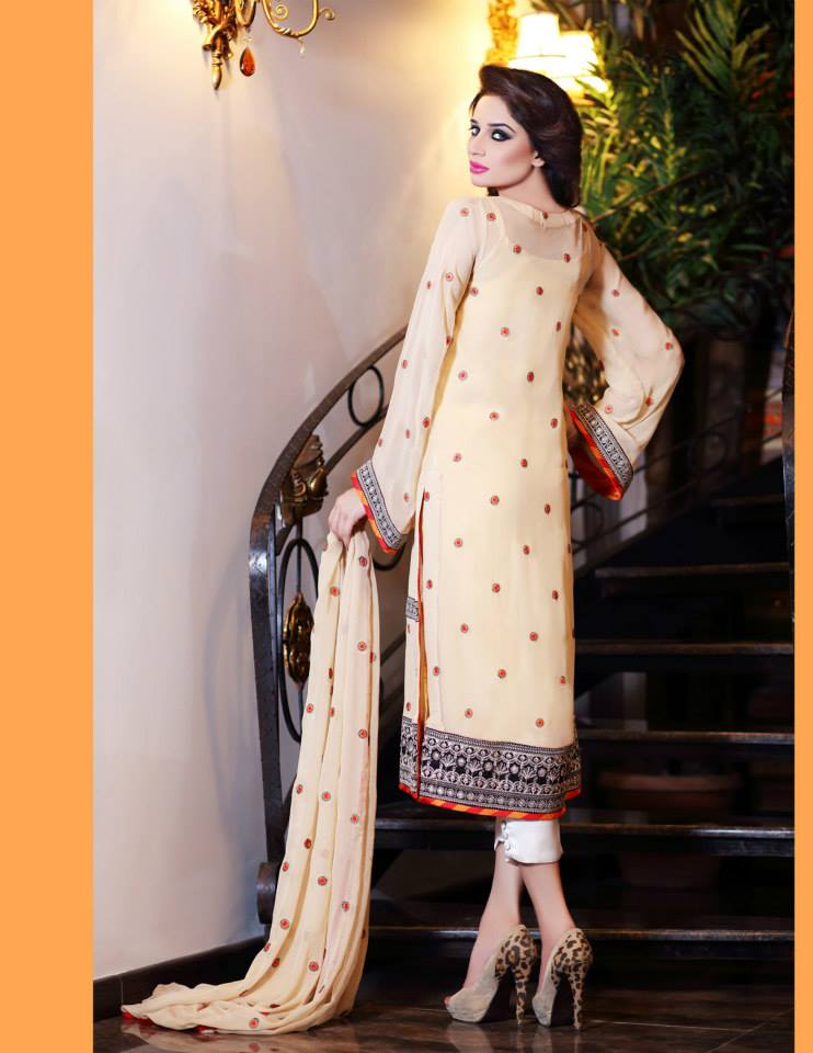 Hadiqa Kiani Winter Collection Linen & Karandi Dresses with Shawls for Women 2014-2015 (27)