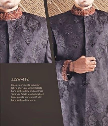 J.couture Junaid Jamshed Men Sherwanis Collection for Weddings & Paries 2015-2016 (1)