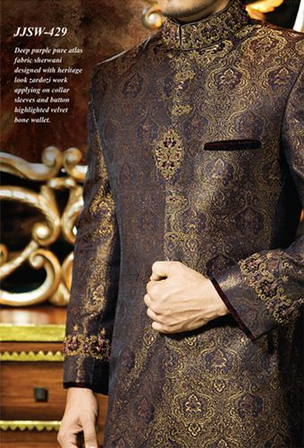 J.couture Junaid Jamshed Men Sherwanis Collection for Weddings & Paries 2015-2016 (10)