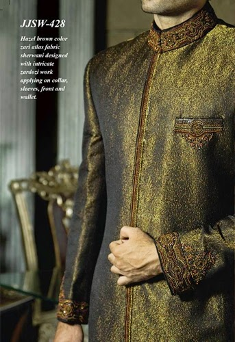 J.couture Junaid Jamshed Men Sherwanis Collection for Weddings & Paries 2015-2016 (18)