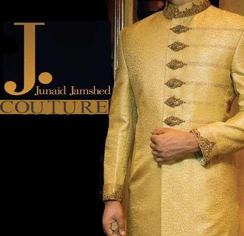 J.couture Junaid Jamshed Men Sherwanis Collection for Weddings & Paries 2015-2016 (19)