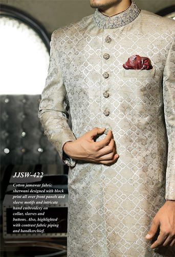 J.couture Junaid Jamshed Men Sherwanis Collection for Weddings & Paries 2015-2016 (2)