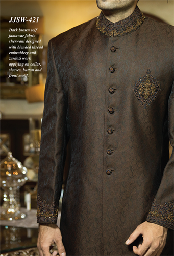 J.couture Junaid Jamshed Men Sherwanis Collection for Weddings & Paries 2015-2016 (3)