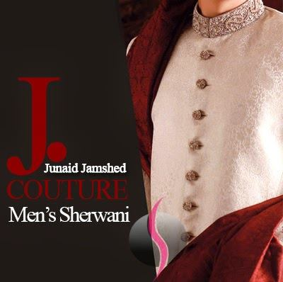 J.couture Junaid Jamshed Men Sherwanis Collection for Weddings & Paries 2015-2016 (4)