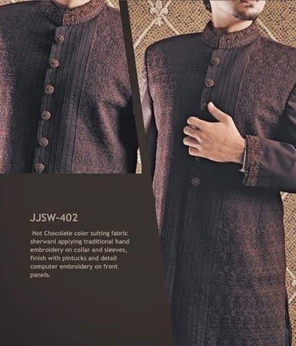 J.couture Junaid Jamshed Men Sherwanis Collection for Weddings & Paries 2015-2016 (6)