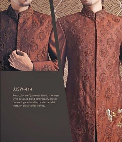 J.couture Junaid Jamshed Men Sherwanis Collection for Weddings & Paries 2015-2016 (9)