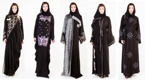 Latest Arabian Abaya Designs with Hijab Collection for Women 2015-2016