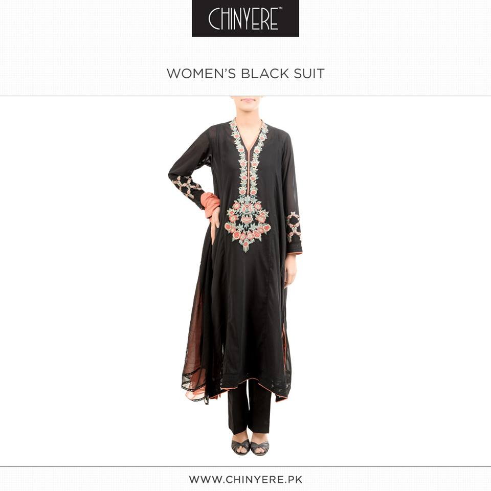 Latest Party Wear Fancy & Embroidered Dresses by Chinyere Party Wear Collection 2015-2016 (11)