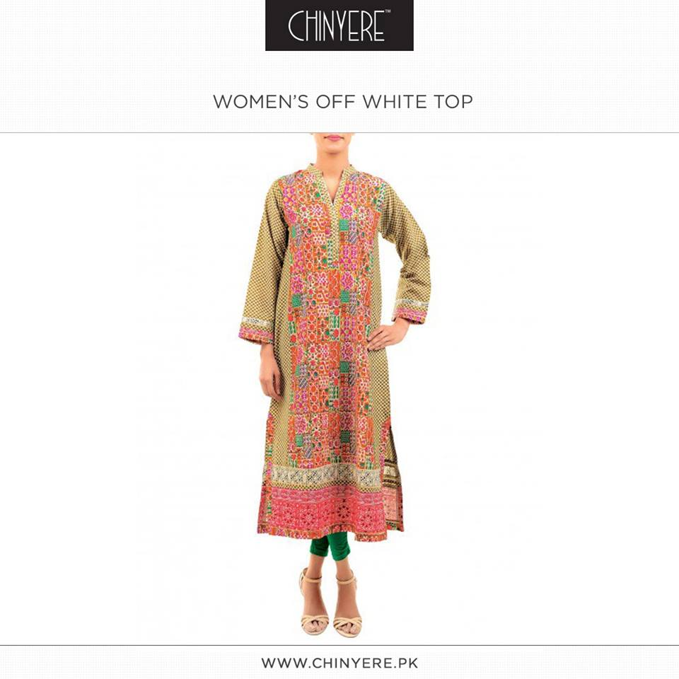 Latest Party Wear Fancy & Embroidered Dresses by Chinyere Party Wear Collection 2015-2016 (13)
