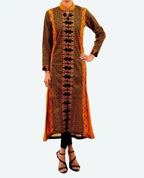 Latest Party Wear Fancy & Embroidered Dresses by Chinyere Party Wear Collection 2015-2016 (18)