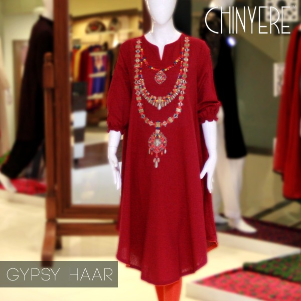 Latest Party Wear Fancy & Embroidered Dresses by Chinyere Party Wear Collection 2015-2016 (5)