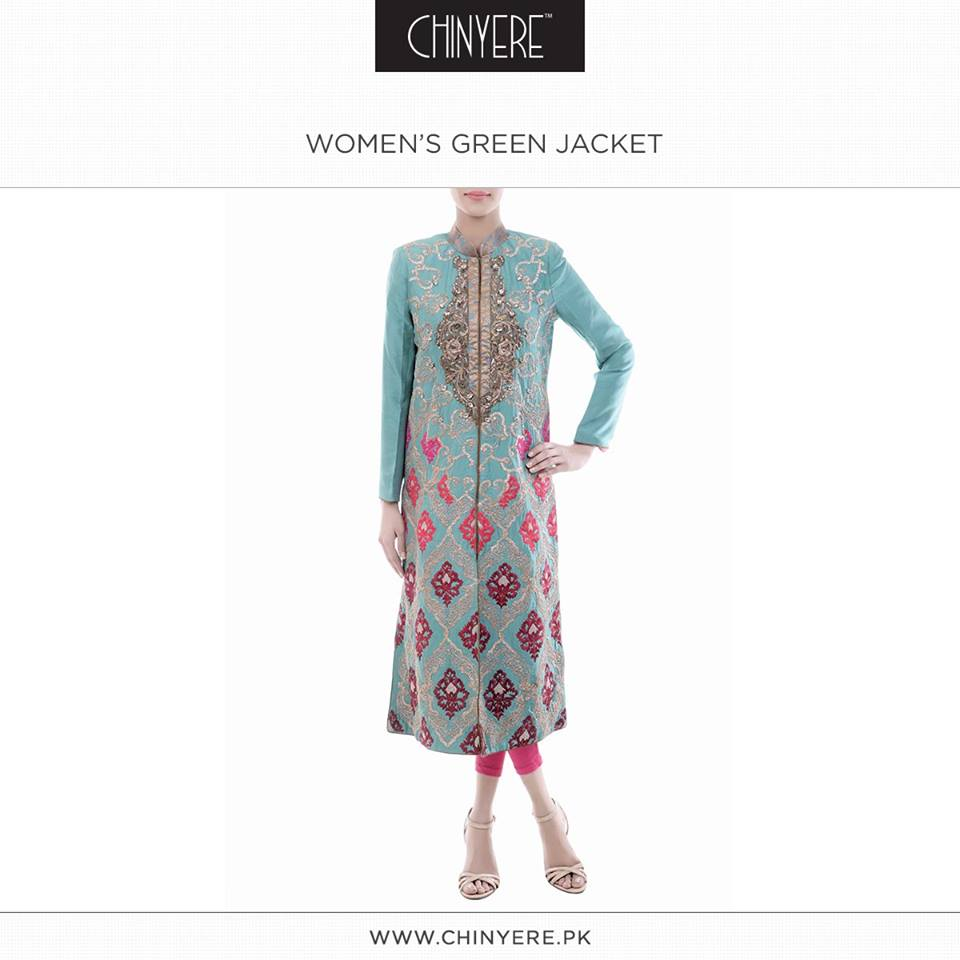Latest Party Wear Fancy & Embroidered Dresses by Chinyere Party Wear Collection 2015-2016 (7)