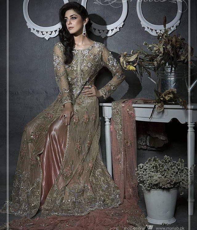 Pakistani Designer Bridal Dresses Maria B Brides 2018-2019