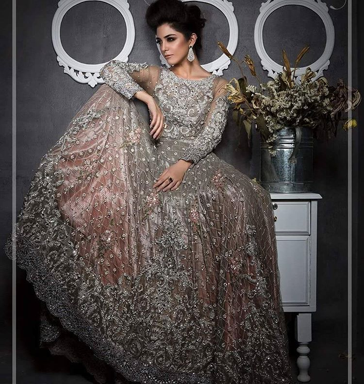 Beautiful Wedding Dresses 2019: Pakistani Designer Bridal Dresses Maria B Brides 2018-2019