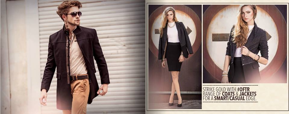 Outfitters Latest Western Wear Casual Dresses Winter Fall Collection for Modern Boys & Girls 2014-2015 (1)