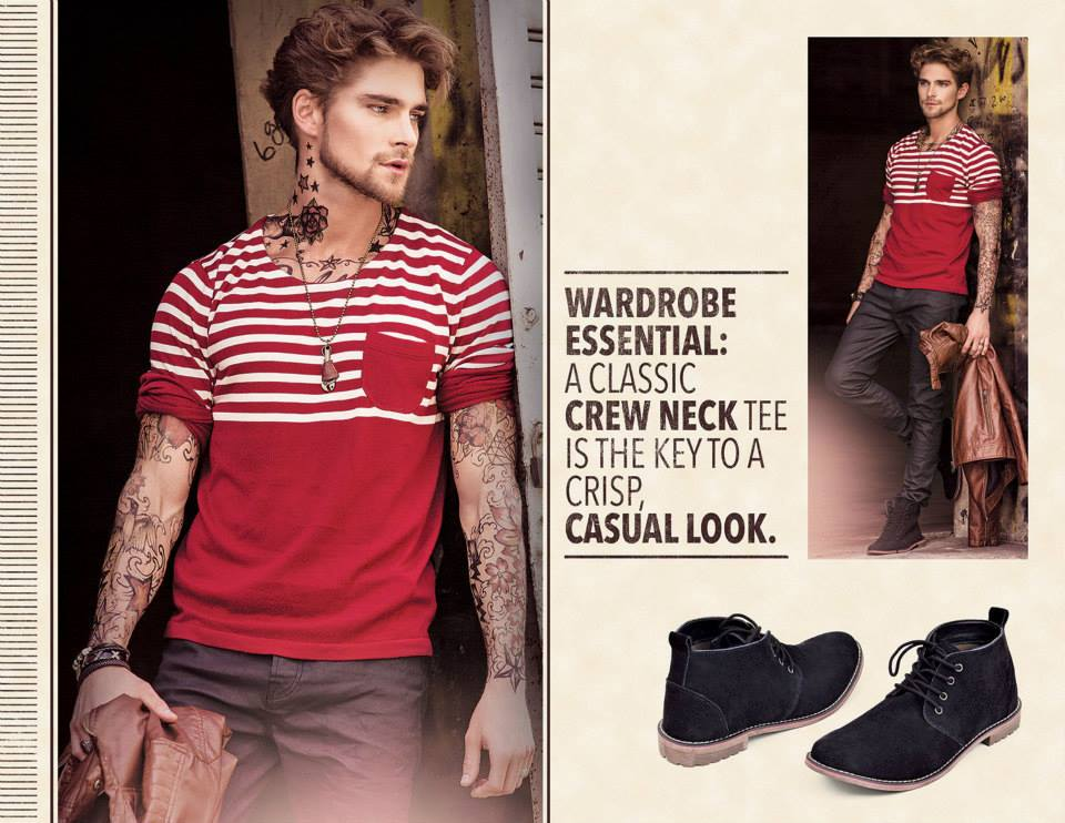 Outfitters Latest Western Wear Casual Dresses Winter Fall Collection for Modern Boys & Girls 2014-2015 (2)