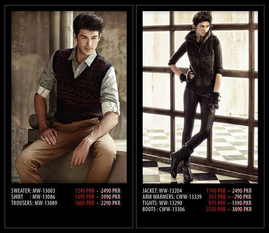 Outfitters Latest Western Wear Casual Dresses Winter Fall Collection for Modern Boys & Girls 2014-2015 (27)