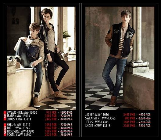 Outfitters Latest Western Wear Casual Dresses Winter Fall Collection for Modern Boys & Girls 2014-2015 (36)