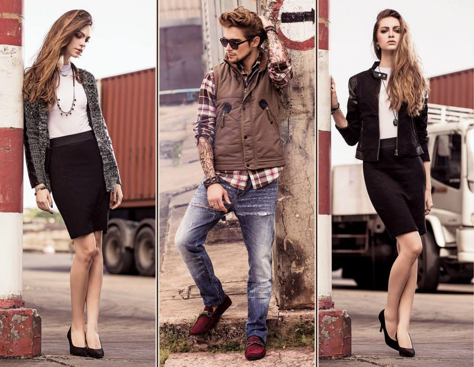 Outfitters Latest Western Wear Casual Dresses Winter Fall Collection for Modern Boys & Girls 2014-2015 (8)