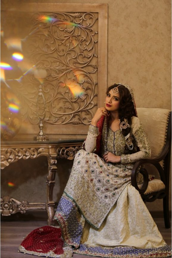Pakistani Designer Bridal Dresses Maria B Brides 2018-19 Collection images 6