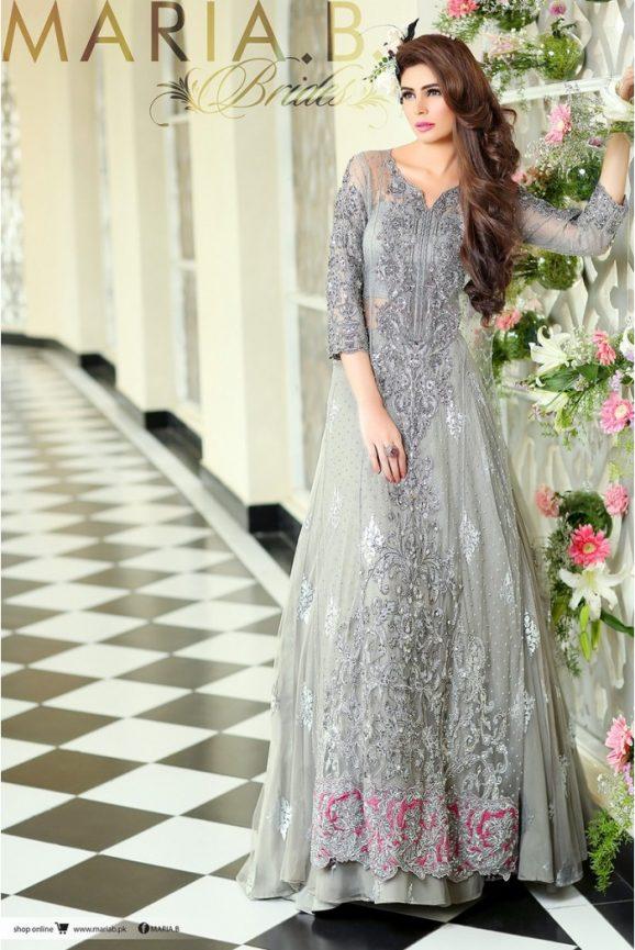 Pakistani Designer Bridal Dresses Maria B Brides 2018-19 Collection images 8