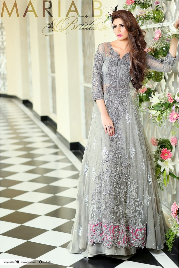 94139364ec5 Pakistani Designer Bridal Dresses by Maria B Brides Latest Collection  2019-20
