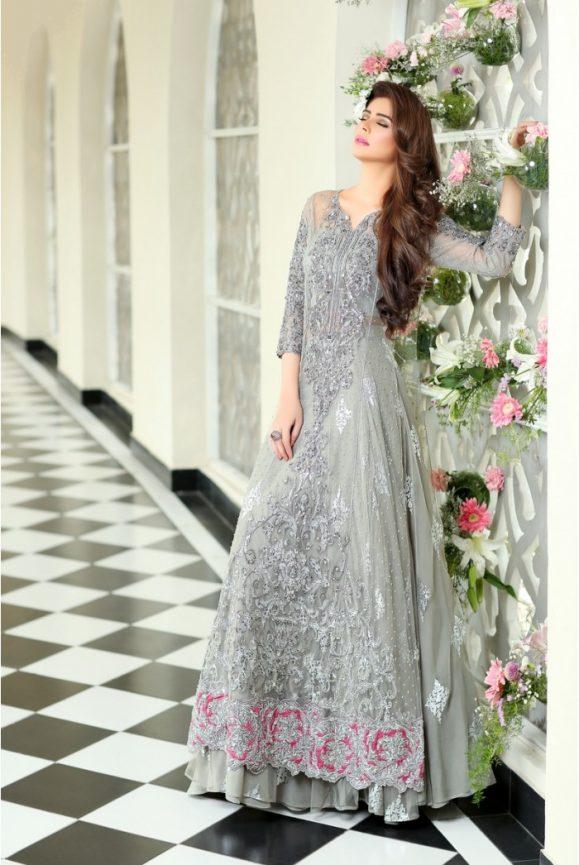 Pakistani Designer Bridal Dresses Maria B Brides 2018-19 Collection images 7