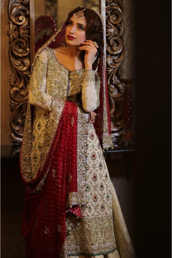 Pakistani Designer Bridal Dresses Maria B Brides 2018-19 Collection images 5