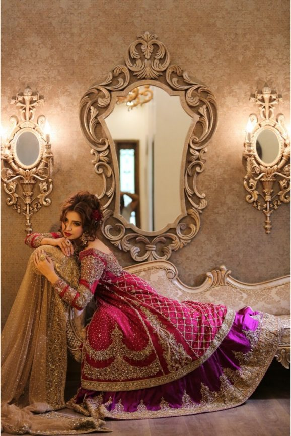 Pakistani Designer Bridal Dresses Maria B Brides 2018-19 Collection images 4