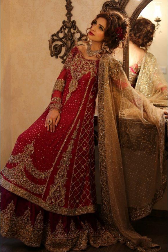 Pakistani Designer Bridal Dresses Maria B Brides 2018-19 Collection images 3