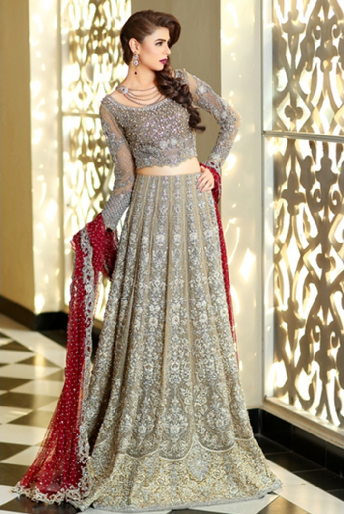 Pakistani designer bridal dresses maria b brides 2018 2019 for Designer brand wedding dresses