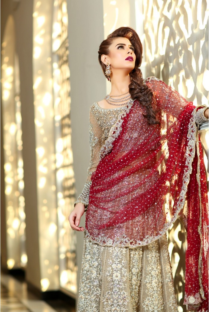 Pakistani Designer Bridal Dresses Maria B Brides 2018 2019 Collection