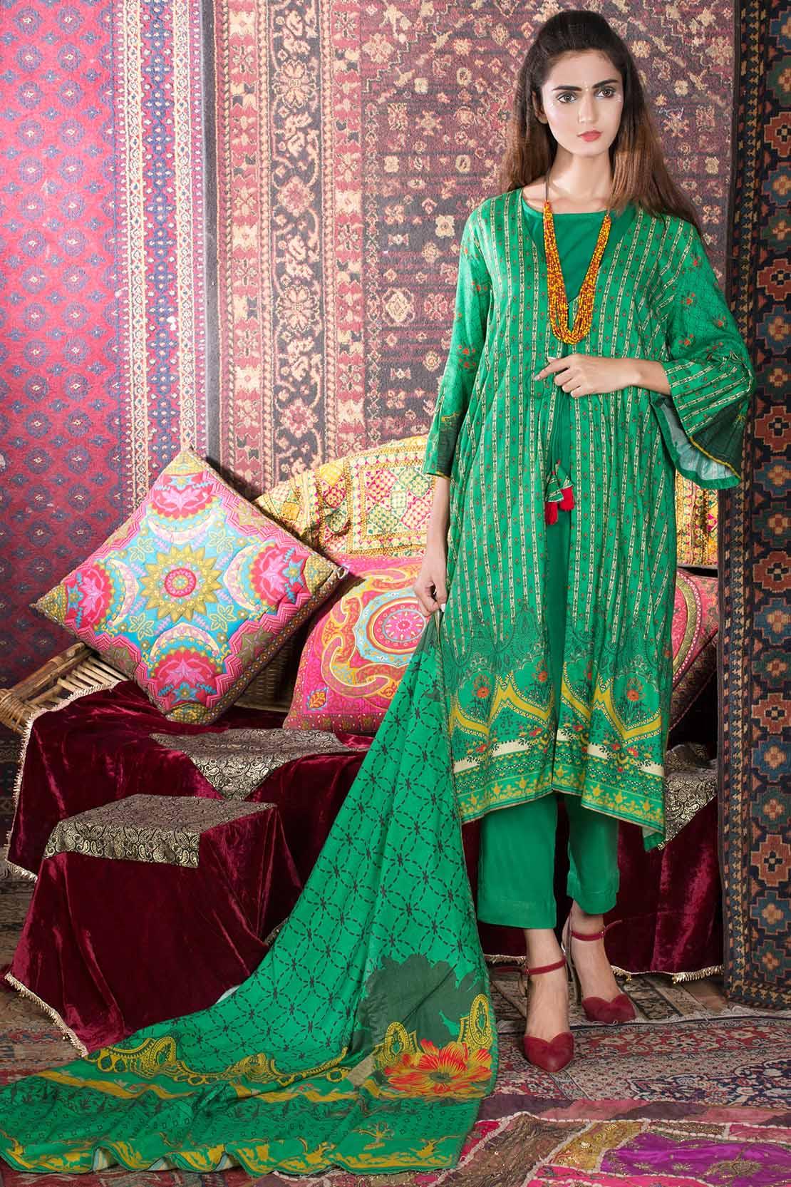 7271477250 WARDA Latest Women Designer Winter Dresses Collection 2018-2019