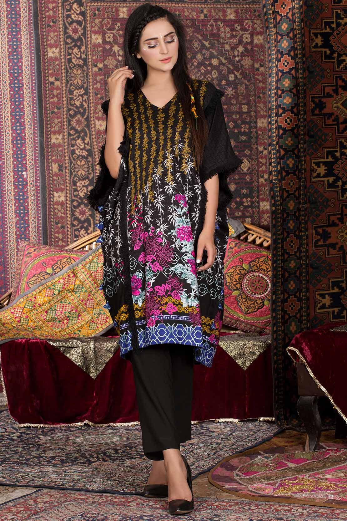 829c6dc1e8 ... 2 piece and 3 piece suits ranging from 1600 PKR to 4000 PKR onwards in  price. Every single piece of this collection has a nice and unique print ...