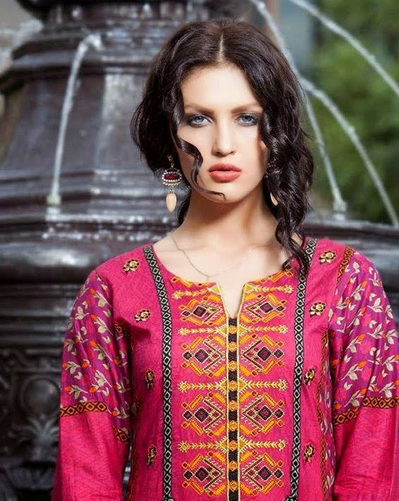 Rabea By Shariq Textile Latest Women Kurtis Tunics Designs Collection 2015-2016 (10)