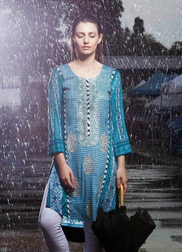 Rabea By Shariq Textile Latest Women Kurtis Tunics Designs Collection 2015-2016 (11)