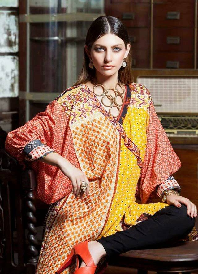 Rabea By Shariq Textile Latest Women Kurtis Tunics Designs Collection 2015-2016 (12)