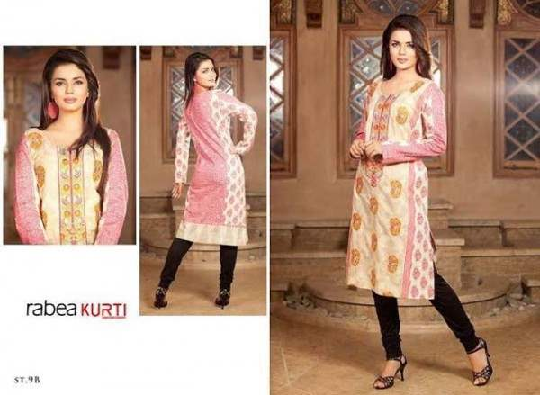 Rabea By Shariq Textile Latest Women Kurtis Tunics Designs Collection 2015-2016 (13)