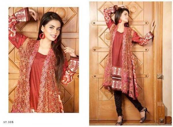 Rabea By Shariq Textile Latest Women Kurtis Tunics Designs Collection 2015-2016 (14)