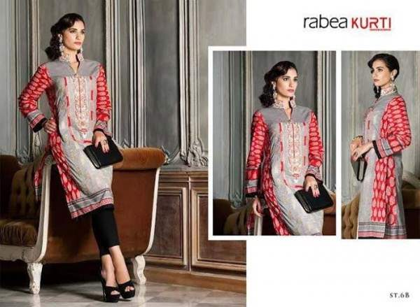 Rabea By Shariq Textile Latest Women Kurtis Tunics Designs Collection 2015-2016 (16)