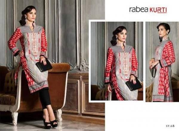 Rabea By Shariq Textile Latest Women Kurtis Tunics Designs Collection 2015-2016 (16)