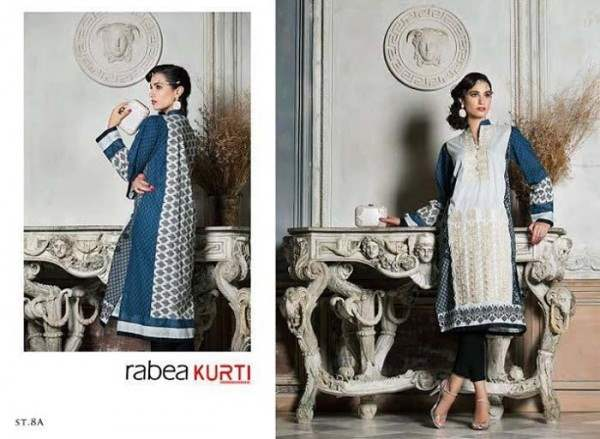 Rabea By Shariq Textile Latest Women Kurtis Tunics Designs Collection 2015-2016 (17)