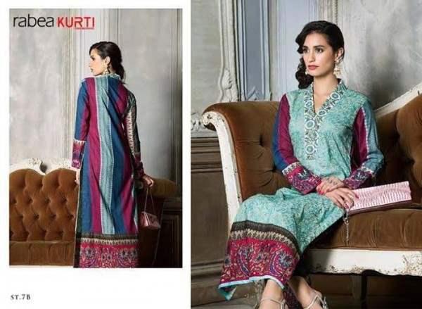 Rabea By Shariq Textile Latest Women Kurtis Tunics Designs Collection 2015-2016 (18)