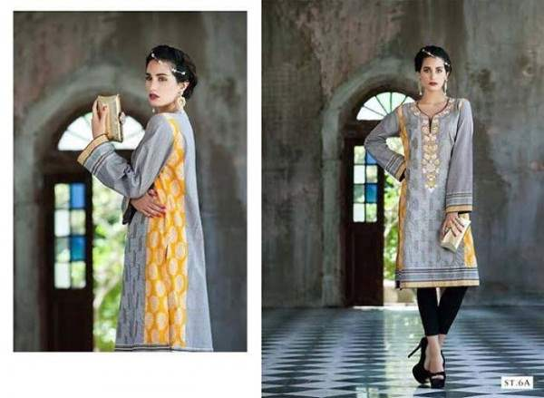 Rabea By Shariq Textile Latest Women Kurtis Tunics Designs Collection 2015-2016 (19)