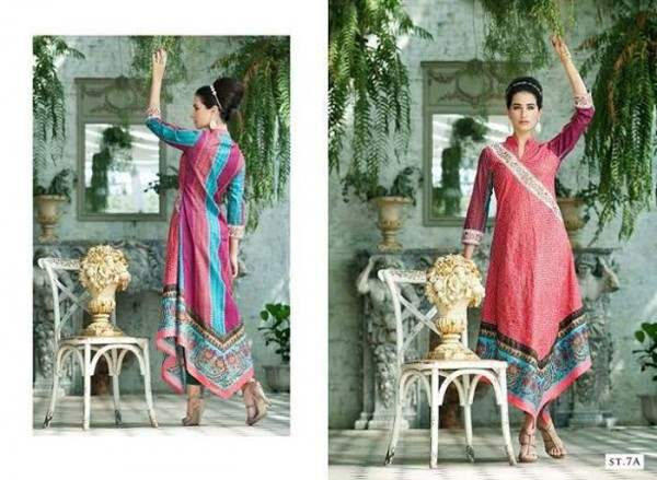 Rabea By Shariq Textile Latest Women Kurtis Tunics Designs Collection 2015-2016 (20)