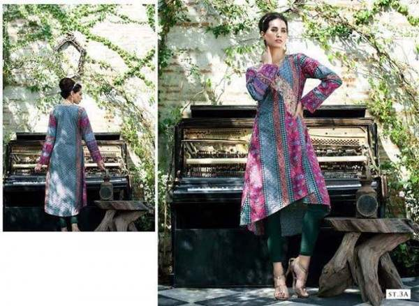 Rabea By Shariq Textile Latest Women Kurtis Tunics Designs Collection 2015-2016 (22)