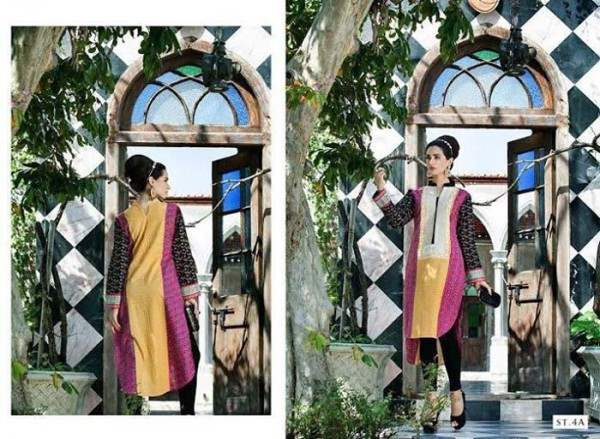Rabea By Shariq Textile Latest Women Kurtis Tunics Designs Collection 2015-2016 (23)